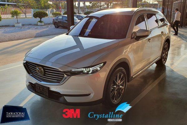 ฟิล์ม 3M crystalline Mazda CX8